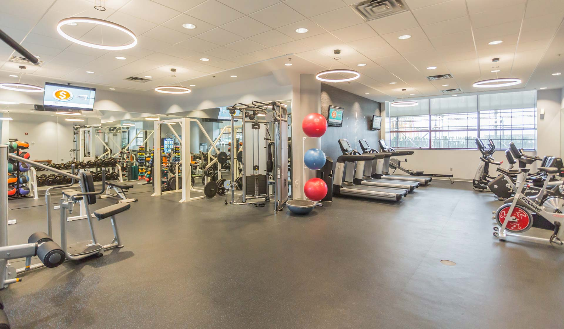 Locust on the Park - Philly Apartments for rent - fitness center